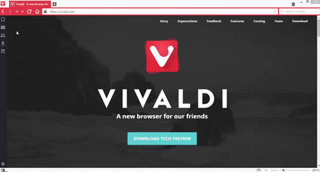 Vivaldi Browser 2015