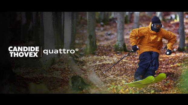 Audi Quattro ski grass