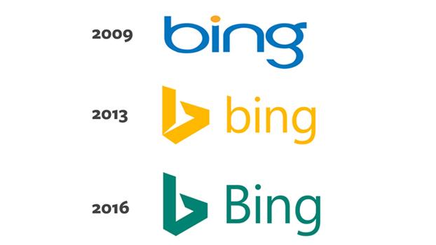 Bing New Logo 2016