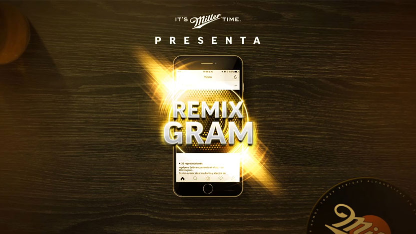 RemixGram Miller