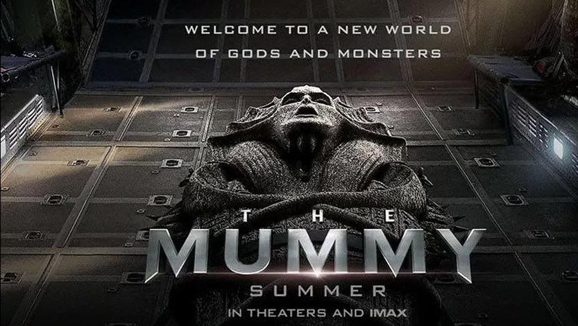The Mummy Trailer 2017