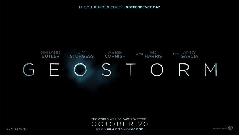 Geostorm Trailer 2017